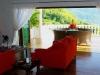 informal lounge and balcony